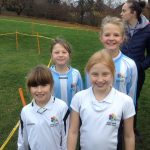 Y5 girls ran very well