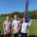 U11 girls cross country