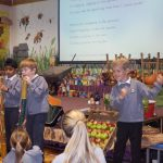 Energetic accompaniment from KS1